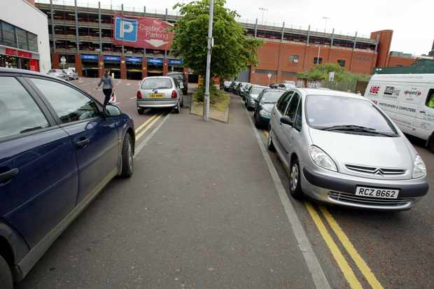 Parking on double yellow lines usually comes with a hefty fine