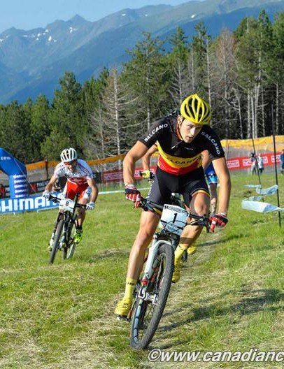 Fabrice Mels (Salcano Alanya) triumphed in the men's eliminator