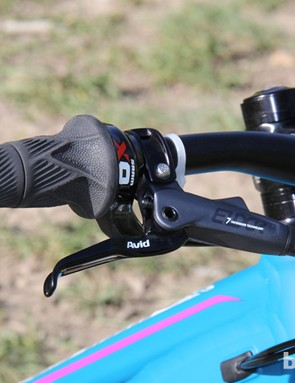 The 2014 Liv/giant Intrigue 1 is specced with SRAM Grip Shift