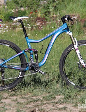 It appears that Giant is as commited to women's mountain bikes as it is to the 650b wheel size