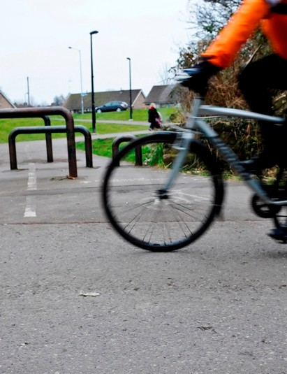 Could more chicanes and barriers emerge on the NCN to stop speeding cyclists?