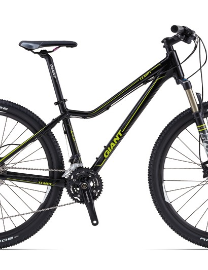 The Liv/giant Tempt is an aluminum 650b women's hardtail; there are five models in the 2014 Tempt line