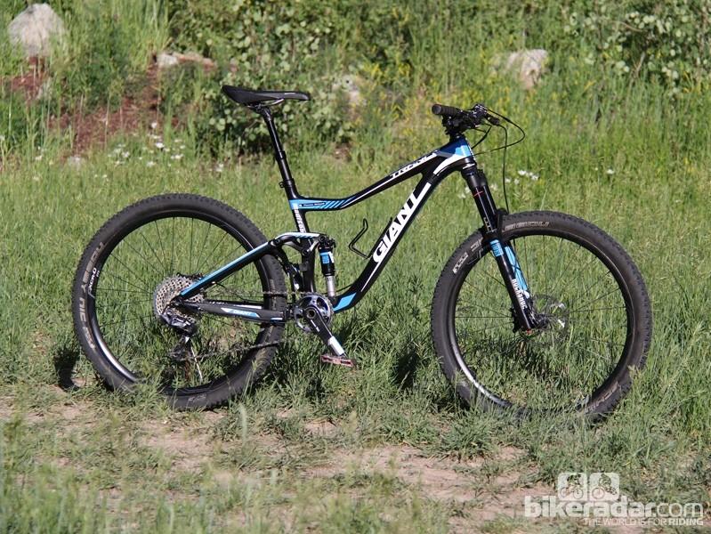 Giant Trance Advanced 27 5 0 – first ride - BikeRadar