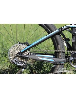 The Trance Advanced 27.5 0 has 439mm (17.3in) chainstays