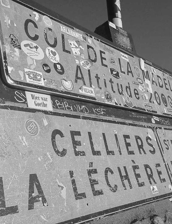 The Col de la Madeleine tops out at 1,993m