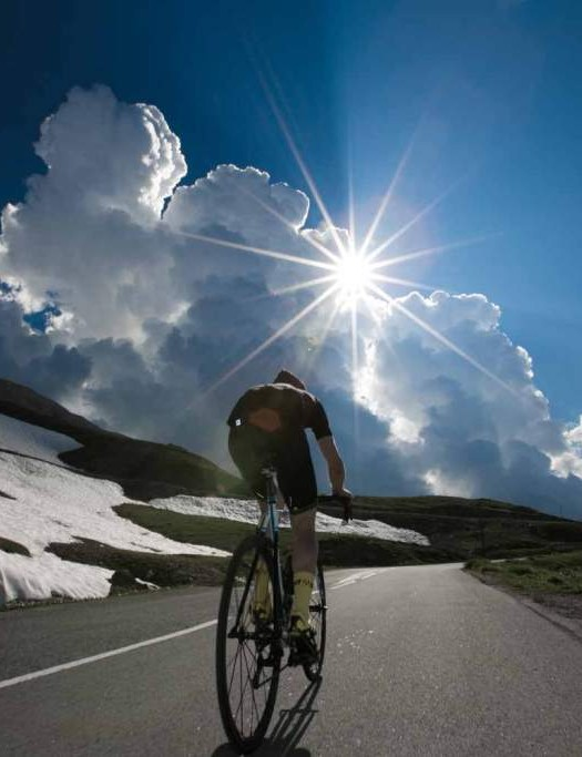 Cotty might have already tackled the Galibier in daylight, but during the Les Alpes challenge he'll arrive at the base at night