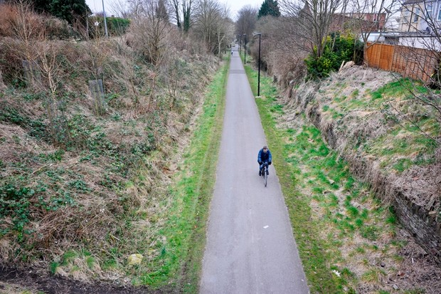 The Bristol to Bath cycle path uses the old Midland Railway's selection of tunnels and bridges