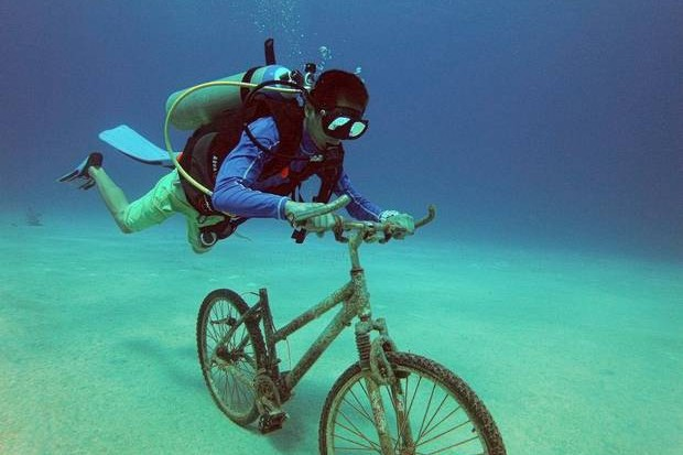 GoPro cameras – popular with bikers and scuba divers