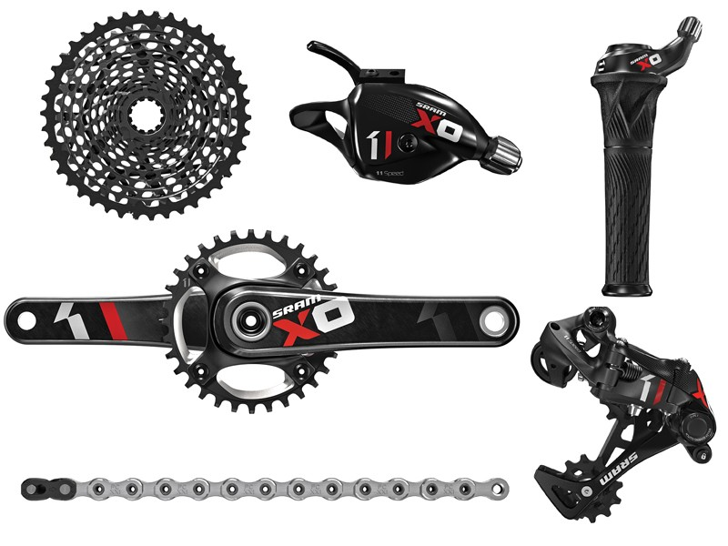 SRAM's X01 groupset builds on the success of XX1 and brings the price down to more attainable levels with a minimal increase in weight