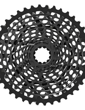 The color of the SRAM X01 cassette comes from a surface treatment intended to reduce wear