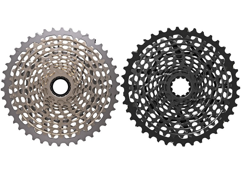 Cassette range for SRAM X01 is the same as for XX1: 10-12-14-16-18-21-24-28-32-36-42