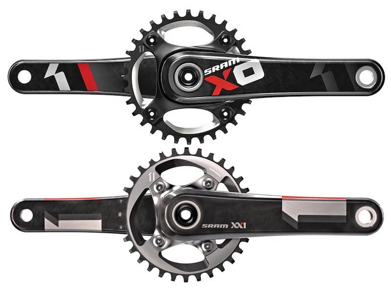 According to SRAM, the 76mm BCD rings and spiders used on XX1 are significantly more expensive to produce than the 94mm bolt pattern used on X01