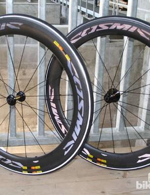 Mavic Cosmic Carbone CXR 60 T wheelset