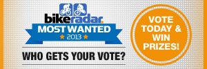 BikeRadar Most Wanted Awards 2013