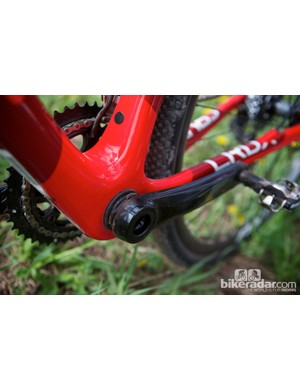 The Specialized CruX Elite carbon frame is also Di2 ready
