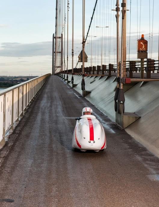 The London Edinburgh London attracts some super-sleek aerodynamic pedal machines