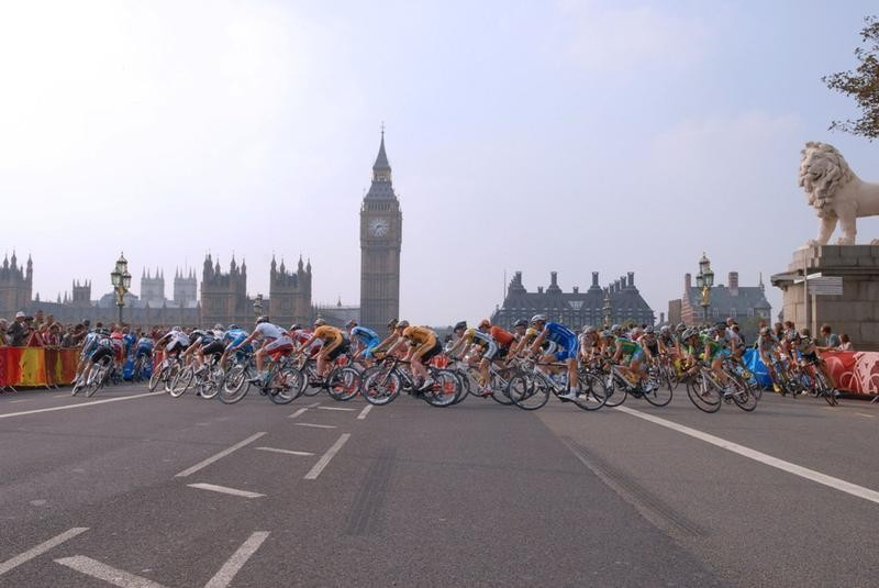 The Prudential RideLondon-Surrey Classic starts from the Queen Elizabeth Olympic Park and finishes on The Mall