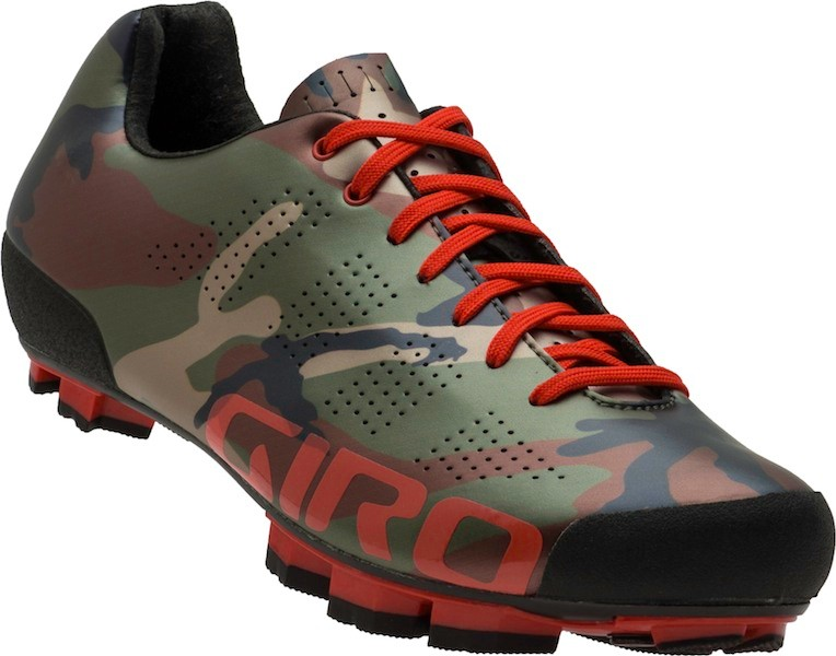 Giro's US$300 Empire mountain bike shoe is available in this limited edition camoflage color