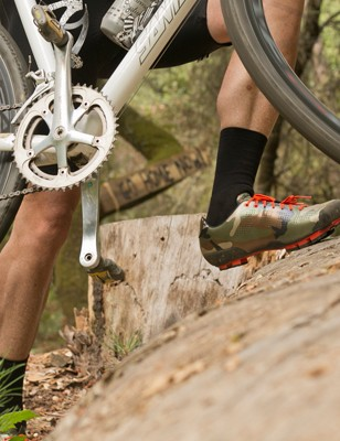 Pair these shoes with a Realtree skinsuit and your competition won't see you coming
