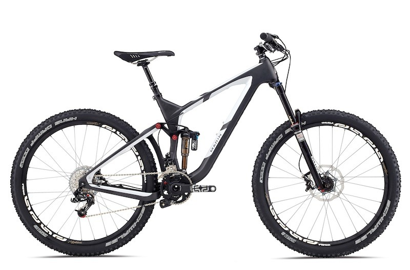 Marin's Attack Trail is back in the line for 2014, now with 650b (27.5in) wheels, a full-carbon frame, and 150mm of suspension travel