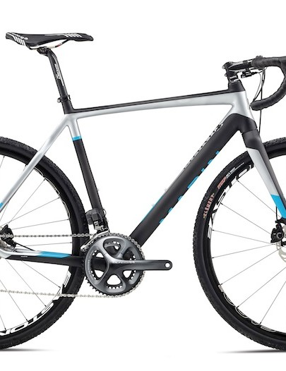 The 2014 Marin CX PRO has a disc-specific carbon frame with matching full-carbon fork