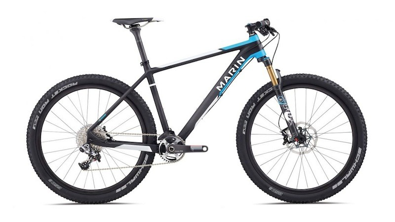 The 2014 Marin Team CXR Pro will be available with 29in or 650b (27.5in) wheels