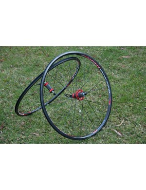 The Fulcrum Racing Light XLR wheelset