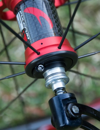Fulcrum hubs are easy to service; standard tools are a blessing