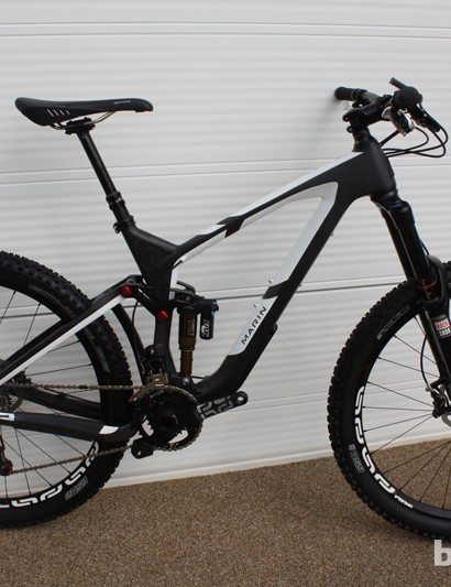 The Attack Trail Pro will be offered with the new RockShox Pike RCT3 fork and a 2x10 SRAM X0 drivetrain, with e*thirteen supplying the TRS+ wheels, crankset, and chainguide