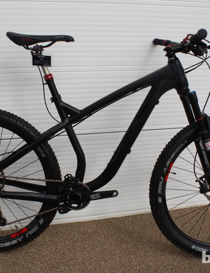 The 2014 Marin Rocky Ridge 7.4 is a new 650b hardtail