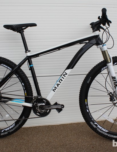 The Marin Indian Fire Trail cross-country hardtail is available with 26in, 27.5in, and 29in wheels