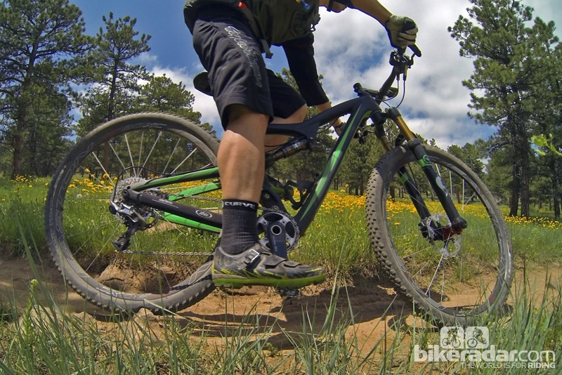 The Ibis Ripley 29's frame geometry looks a bit odd on paper but absolutely works on the trail