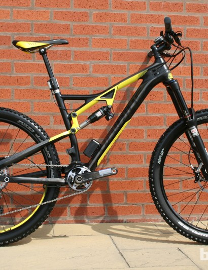 Haibike's range of full-suspension mountain bikes is updated in the form of the headlining Heet RX. It's available now with 650b (27.5in) and 29in wheels (2013's model had 26in hoops. The new frame includes internal cabling and replaceable dropouts