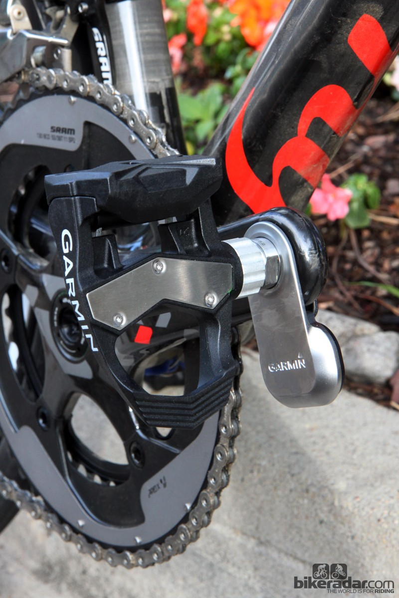 The Garmin-Sharp team has been wear-testing empty Vector pedals for more than a season now. As a result, the rear of the pedal has been significantly beefed up from the original versions, and there's a replaceable stainless steel plate up top