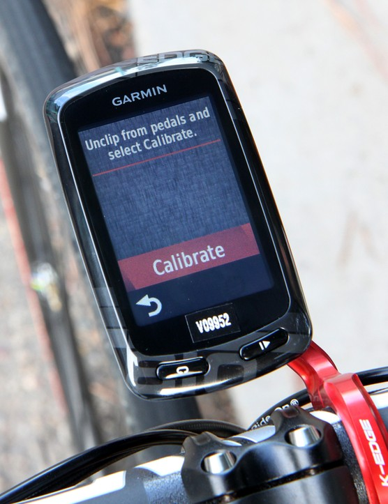 Garmin says that Vector users should only have to calibrate after installing the pedals on the crank arms. Otherwise, the system automatically compensates for temperature fluctuations, which can cause a significant drift in readings