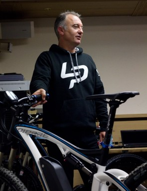 When asked why Lapierre are showing such an interest in e-bikes, Gile made his view clear.