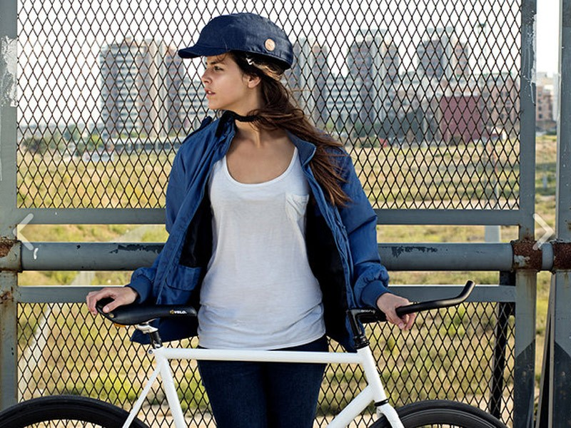 The Closca is a foldable helmet that meets US and EU safety standards