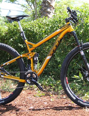 The 2014 Virtue Nine 20 is the top aluminum bike in the range