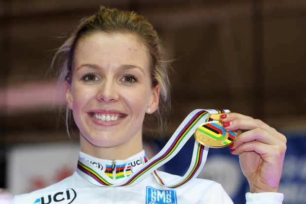 Double world champion Becky James said volunteers helped her develop a cycling career