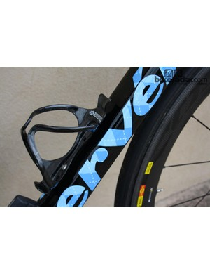 The Cervélo R5 is an example of a high-end carbon fibre frame