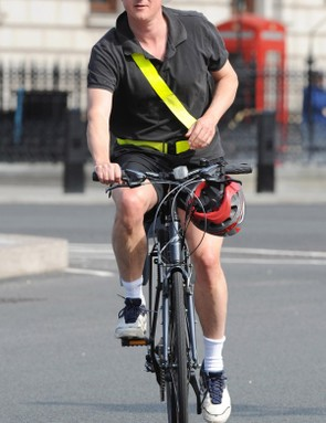 David Cameron has also pledged to make councils 'think bike' when planning new buildings