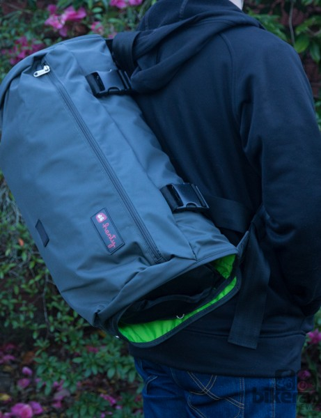 Henty's Wingman is designed to be worn over the shoulder
