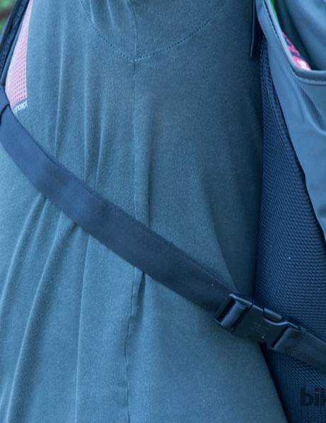 The Henty Wingman chest strap is adjustable and easy to clip in