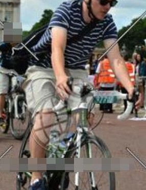 The Metropolitan Police want to speak to this man in connection with a bike theft at the Prudential RideLondon FreeCycle
