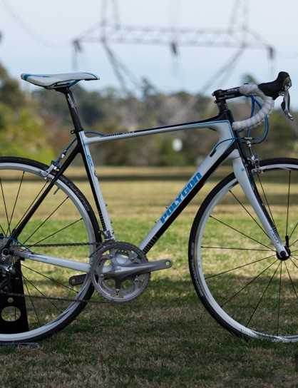 The Polygon Helios C6.0 is an endurance road bike with race flair