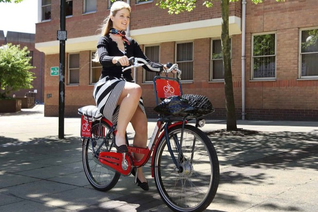 The Bike & Go programme is aimed at rail commuters who want to cycle the last leg of their journey to work