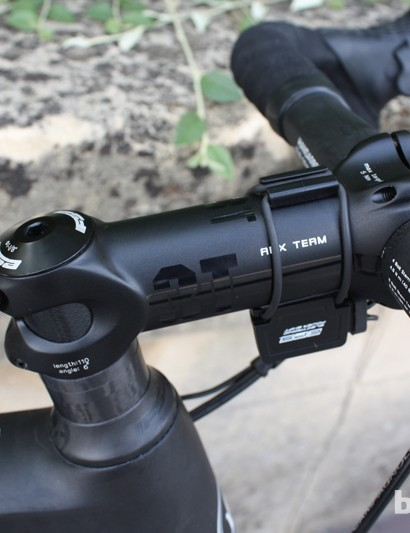 A 3T stem helps with the stealthy look of the Lightweight Urgestalt frame