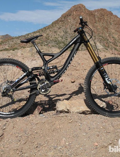 The Specialized S-Works Demo 8 is a contender in the downhill mountain bike category