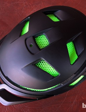 Smith Optics acknowledges that the Aerocore's honeycomb structure won't allow for flow-through ventilation like with most traditional helmets. Instead, Smith says the open design simply won't let excess heat build up in the first place