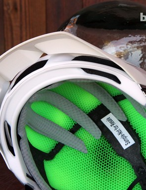Padding is placed where needed for comfort on the Smith Forefront all-mountain helmet